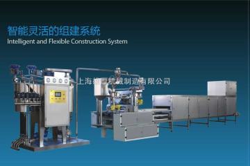 GD450全自動PLC控制硬塘澆注生產線改進型