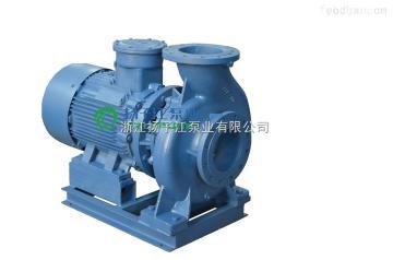ISW80-200B厂家直销卧式管道泵ISW80-200B单级单吸离心泵 冷热水循环管道泵