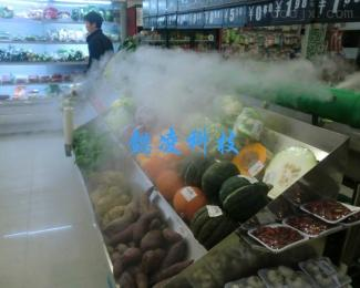 YLBX-3Z超市蔬菜架保鲜喷雾器工业加湿器