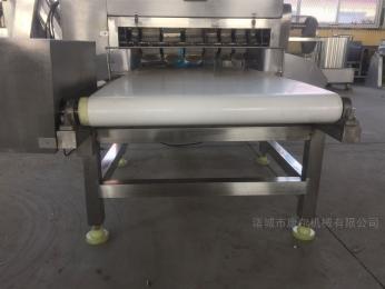 QYX-800诸城康尔牌隔板式带鱼切段机