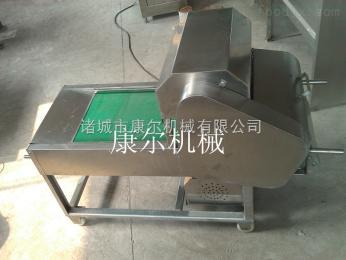 QY-600康尔带鱼切段机 炸鱼生产线配套用切鱼机厂家销售