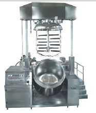 1000L双缸升降乳化机
