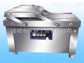 DZ-600/2S廠家直供牛肉干玉米雙室真空包裝機