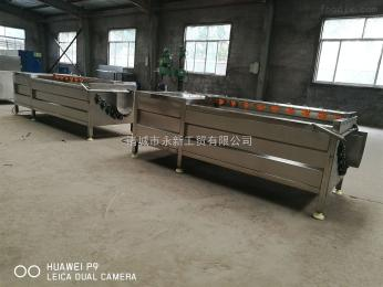 厂家加工 土豆毛辊清洗去皮机莲藕去皮清洗机价格