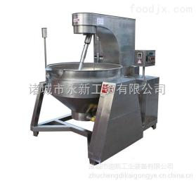 艾博得供应拌料炒酱夹层锅 全自动商用炒菜机器人可应用于高粘度酱料搅拌炒锅