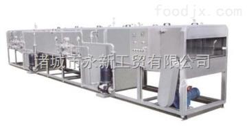 厂家供应专业喷淋式杀菌设备——啤酒杀菌流水线