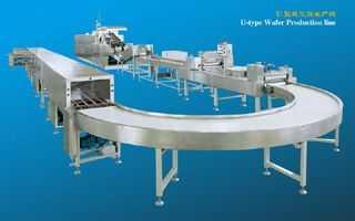 U型威化餅干自動生產線(U型)