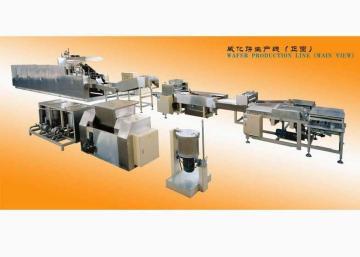 KHE全自動燃氣威化餅生產線