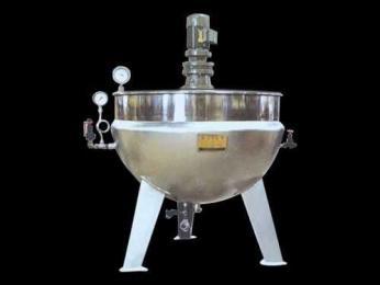 刮底搅拌式立式夹层锅