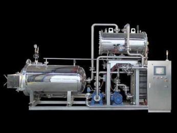 電腦全自動型雙層電加熱噴淋式高溫高壓調理殺菌釜