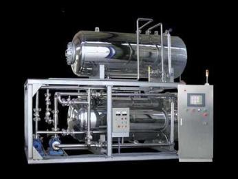 半自動型雙層水浴式高溫高壓調理殺菌釜