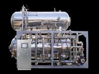 電腦全自動型雙層水浴式高溫高壓調理殺菌釜