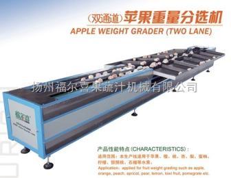 福尔喜(双通道)苹果重量分选机