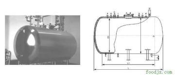 蒸餾水貯罐|臥式蒸餾水貯罐|貯奶罐