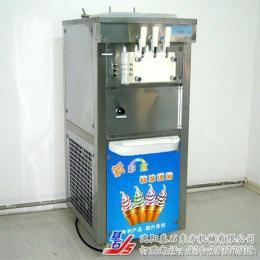 立式冰淇淋机,三色炫彩冰淇淋机,冰激淋机