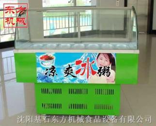 10格冰粥機,冰粥展示機