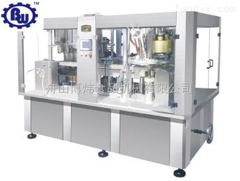 BW4T250W液体饮料灌装封口二合一机组