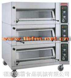 TBDO-1000GS三層六盤上掀式電烤爐