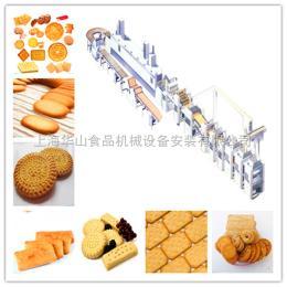 HSJ-620/800/1000上海華山全自動酥性韌性餅干工廠設備/蘇打餅干生產設備,定制