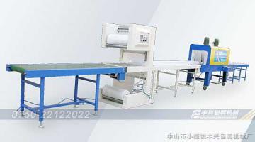 FX5040直线输送式 全自动PE收缩膜包装机组
