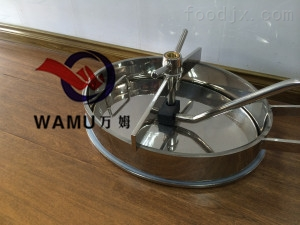 YAC温州厂家生产 YACSUS304 不锈钢椭圆内开式人孔 卫生级内开人孔