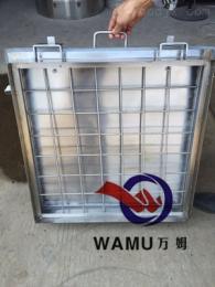 WM溫州廠家批發 不銹鋼方形人孔 矩形人孔 通氣人孔