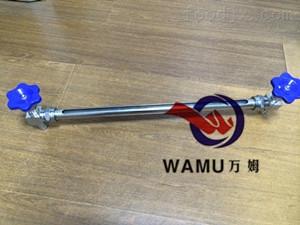 WM不銹鋼快裝液位計 儲罐液位計