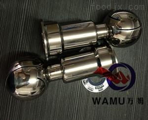 WM温州厂家批发 优质不锈钢固定清洗球 卫生级焊接清洗球