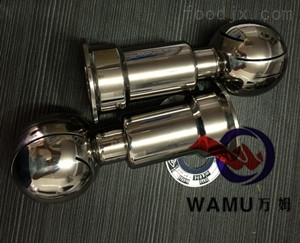 WM溫州廠家批發 *不銹鋼固定清洗球 衛生級焊接清洗球