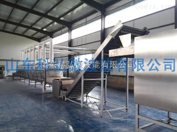 KH-HMTN6微波马铃薯淀粉糊化膨化设备