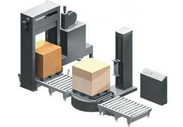 XKC-1托盘捆扎缠绕包装生产线(自动纸箱包装线)