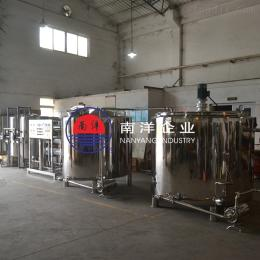 果冻饮料不锈钢双联过滤机生产线
