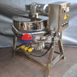 可倾式电加热恒温搅拌夹层锅