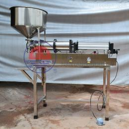 广州半自动气动膏体酱料定时定量灌装机