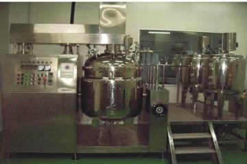 厂家直销 广州膏霜真空乳化成套设备 乳化储罐
