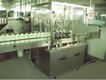 自动膏体灌装锁盖生产线(卫生级)