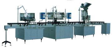 厂家直销 广州饮料灌装机 自动灌装锁盖生产线
