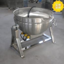 300L导热油夹层锅设备
