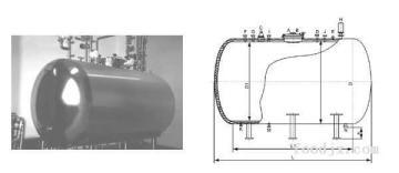 蒸餾水貯罐
