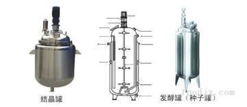 FJ系列保溫冷卻發酵罐(種子罐、結晶罐)