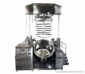 1500L双缸升降乳化机