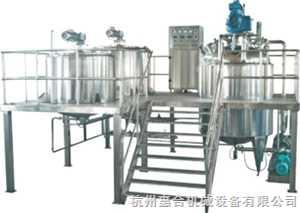外循环真空乳化机(2000L-5000L)
