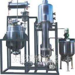 小型多能提取、浓缩、醇沉、回收机组