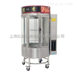 yxyc-820供應木炭燃氣兩用旋轉烤鴨爐