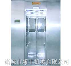 PLC電腦控制風淋室(開門)