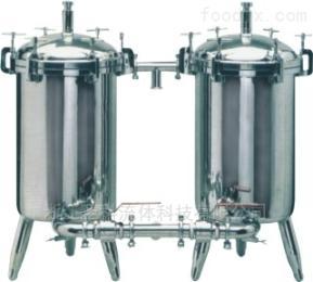 不銹鋼雙聯過濾器  過濾罐