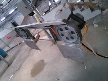 FHL-SPJ-2供应分割锯 带式劈半锯 带式锯 手动