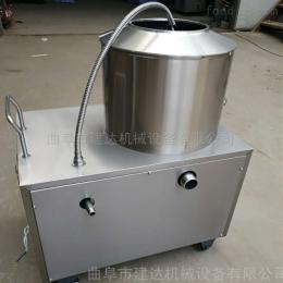 JQP-350小型薯类去皮加工设备 金刚砂磨皮机