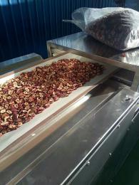 巴旦木微波杀菌设备 微波烘烤熟化设备