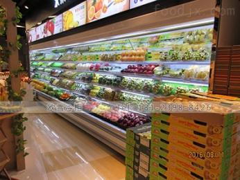 LF-2500AS无锡超市冷藏风幕柜常规尺寸大小